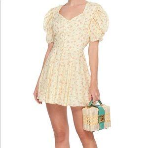Loveshackfancy yellow Cora dress size Xs
